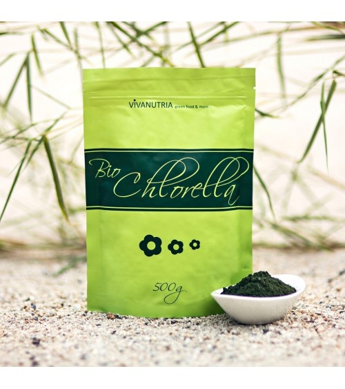Chlorella BIO milteliai 500 g